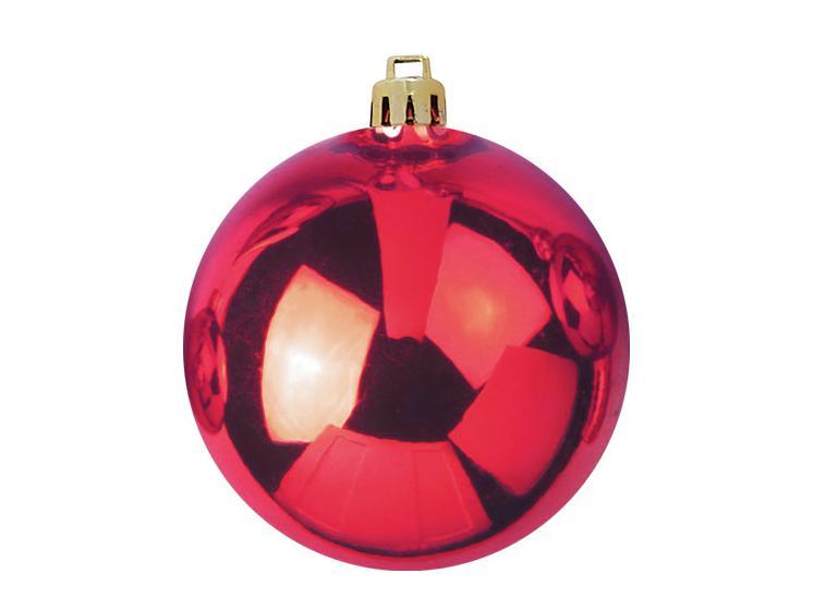 Vánoční dekorační ozdoba, 20 cm, červená, 1 ks