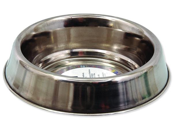 Miska DOG FANTASY nerezová s gumovým spodkem 13 cm 240ml