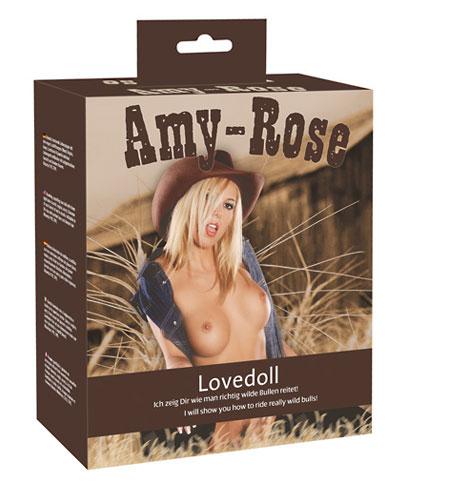 Nafukovací panna - kovbojka Amy-Rose
