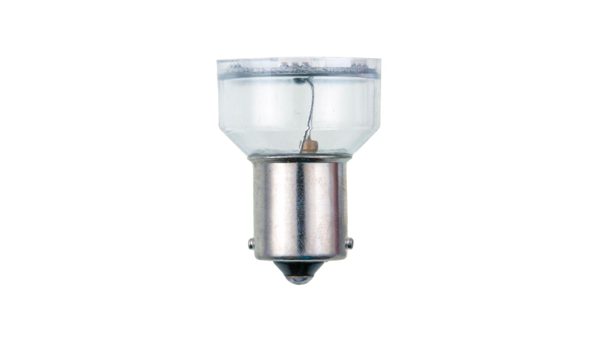 4CARS LED žárovka 6LED 12V S25-5050SMD BA15S oranžová