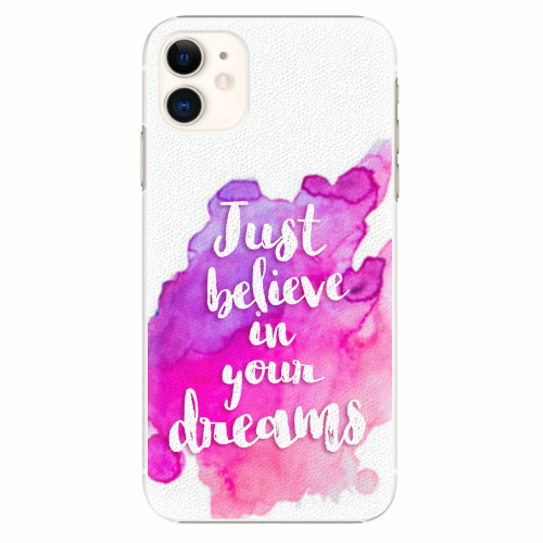 Plastový kryt iSaprio - Believe - iPhone 11