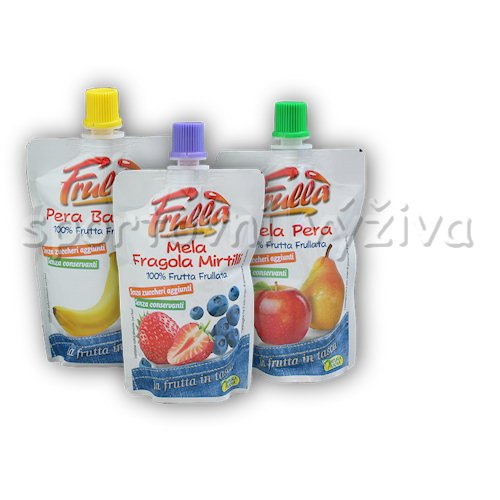 Frulla 100% fruit smoothie - 100g-jablko-hruska