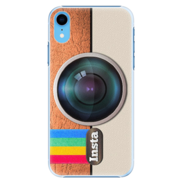 Plastové pouzdro iSaprio - Insta - iPhone XR