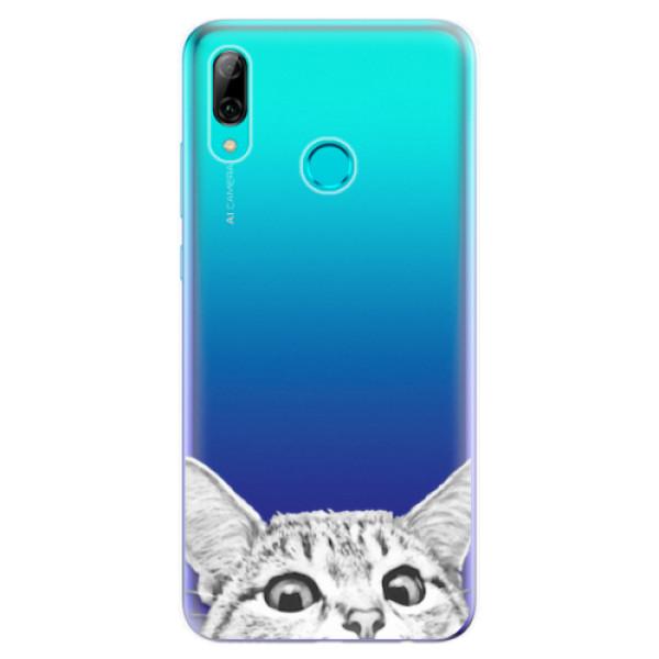 Odolné silikonové pouzdro iSaprio - Cat 02 - Huawei P Smart 2019
