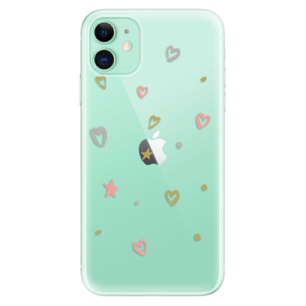 Odolné silikonové pouzdro iSaprio - Lovely Pattern - iPhone 11