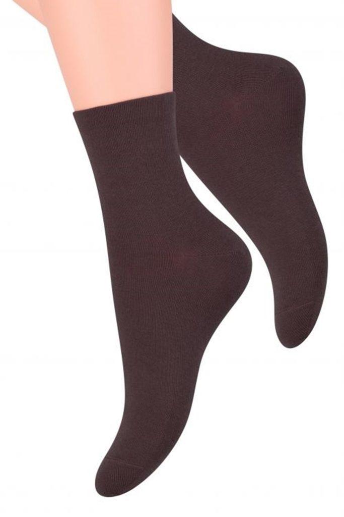 Dámské ponožky 037 brown