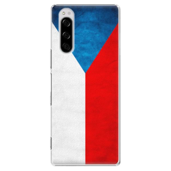 Plastové pouzdro iSaprio - Czech Flag - Sony Xperia 5