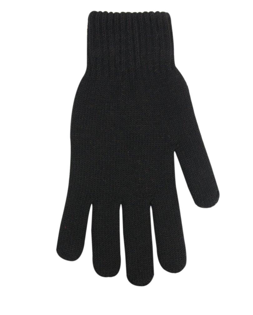 Pánské rukavice AKRYL R-102 - Černá/23 cm