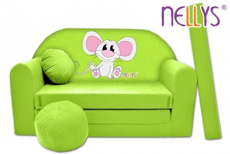 rozkladaci-detska-pohovka-nellys-myska-v-zelenem