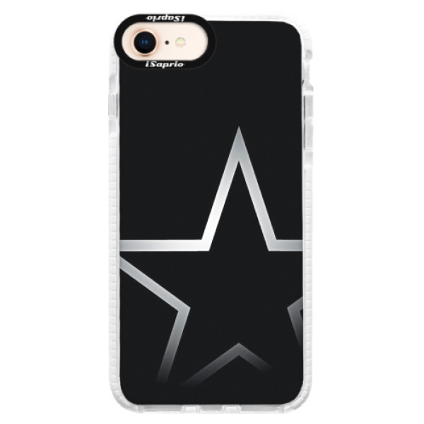 Silikonové pouzdro Bumper iSaprio - Star - iPhone 8