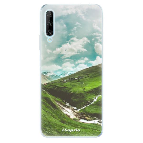 Odolné silikonové pouzdro iSaprio - Green Valley - Huawei P Smart Pro
