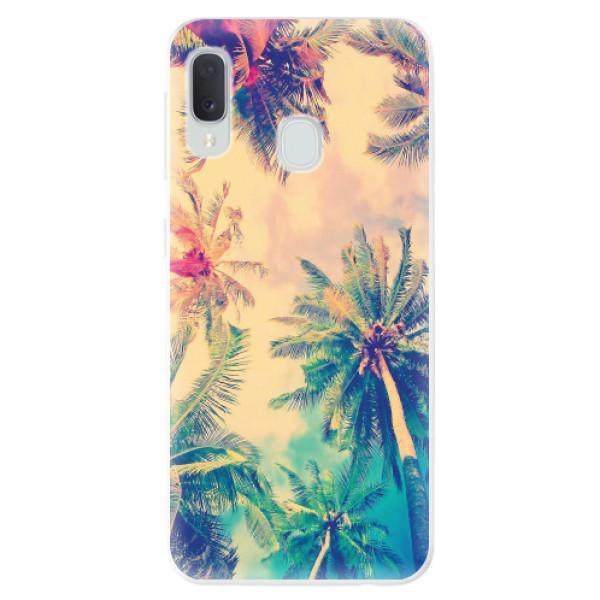Odolné silikonové pouzdro iSaprio - Palm Beach - Samsung Galaxy A20e
