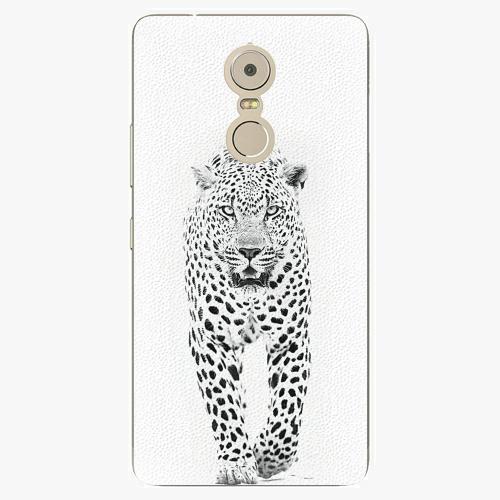 Plastový kryt iSaprio - White Jaguar - Lenovo K6 Note