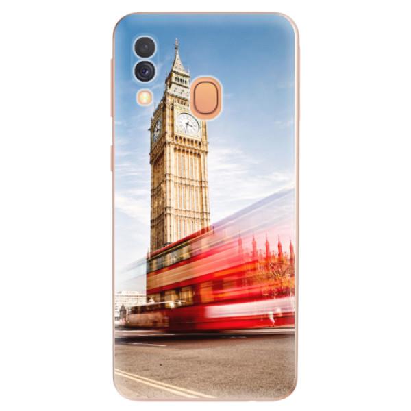 Odolné silikonové pouzdro iSaprio - London 01 - Samsung Galaxy A40