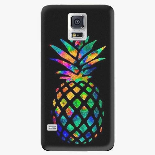 Plastový kryt iSaprio - Rainbow Pineapple - Samsung Galaxy S5
