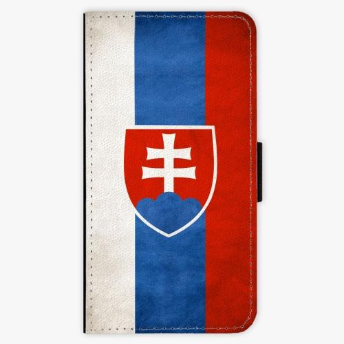 Flipové pouzdro iSaprio - Slovakia Flag - Samsung Galaxy J7 2016