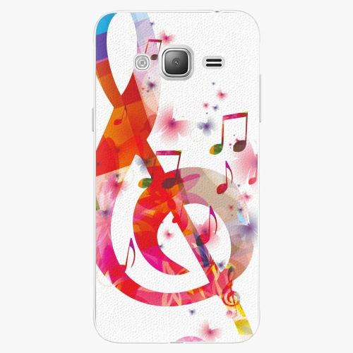 Plastový kryt iSaprio - Love Music - Samsung Galaxy J3 2016
