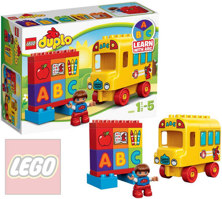 LEGO DUPLO Můj první autobus 10603 STAVEBNICE