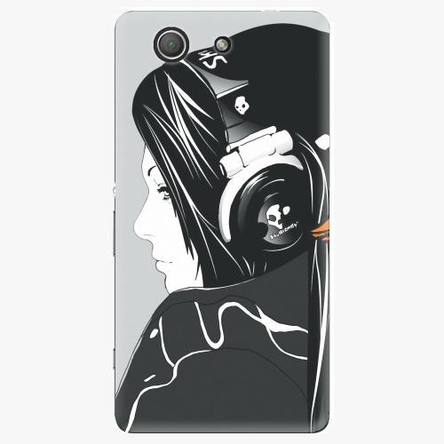 Plastový kryt iSaprio - Headphones - Sony Xperia Z3 Compact