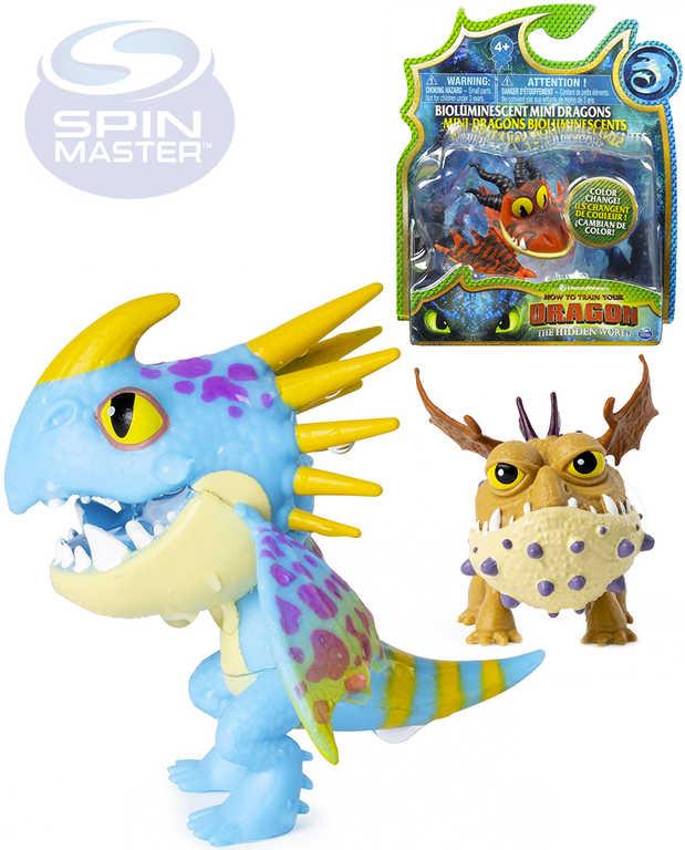 SPIN MASTER Drak figurka Jak vycvičit draka 3 mění barvu 4 druhy plast