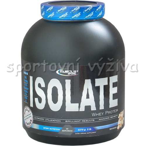Whey Isolate - 2270g-banan