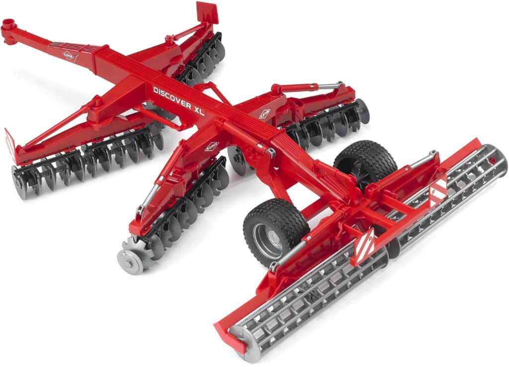 BRUDER 02217 (2217) Diskový kypřič půdy KUHN XL