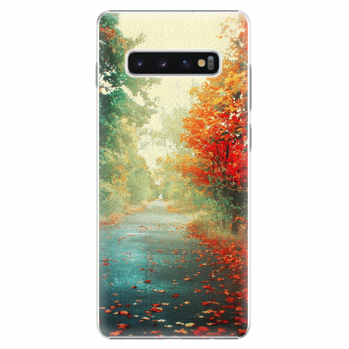 Plastový kryt iSaprio - Autumn 03 - Samsung Galaxy S10+