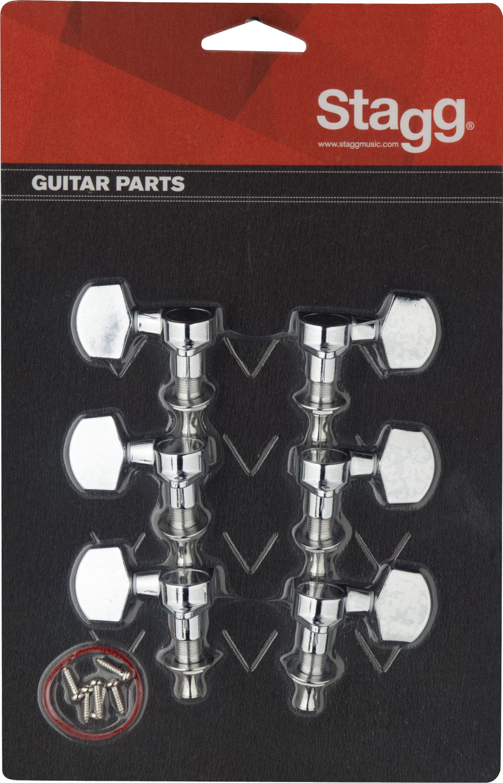 Stagg KG371CR, ladící mechanika pro elektrickou/akustickou kytaru