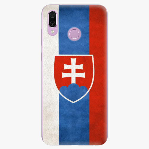 Silikonové pouzdro iSaprio - Slovakia Flag - Huawei Honor Play