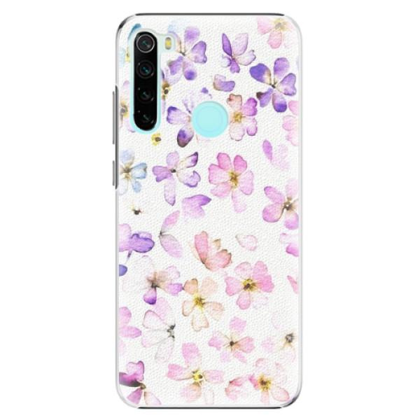 Plastové pouzdro iSaprio - Wildflowers - Xiaomi Redmi Note 8