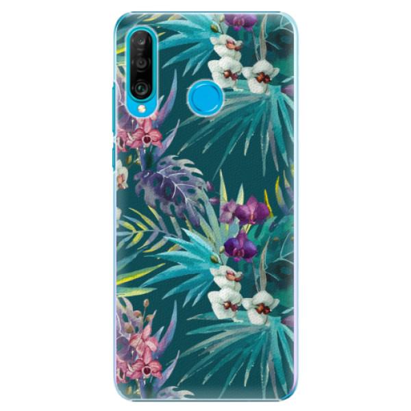 Plastové pouzdro iSaprio - Tropical Blue 01 - Huawei P30 Lite