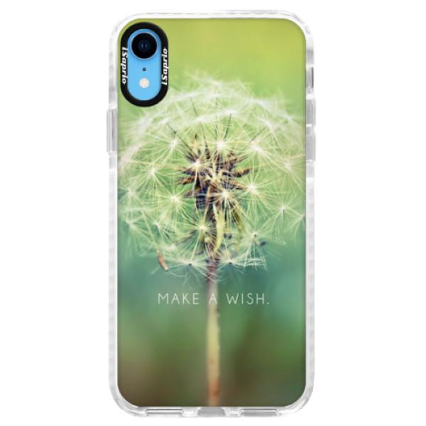 Silikonové pouzdro Bumper iSaprio - Wish - iPhone XR
