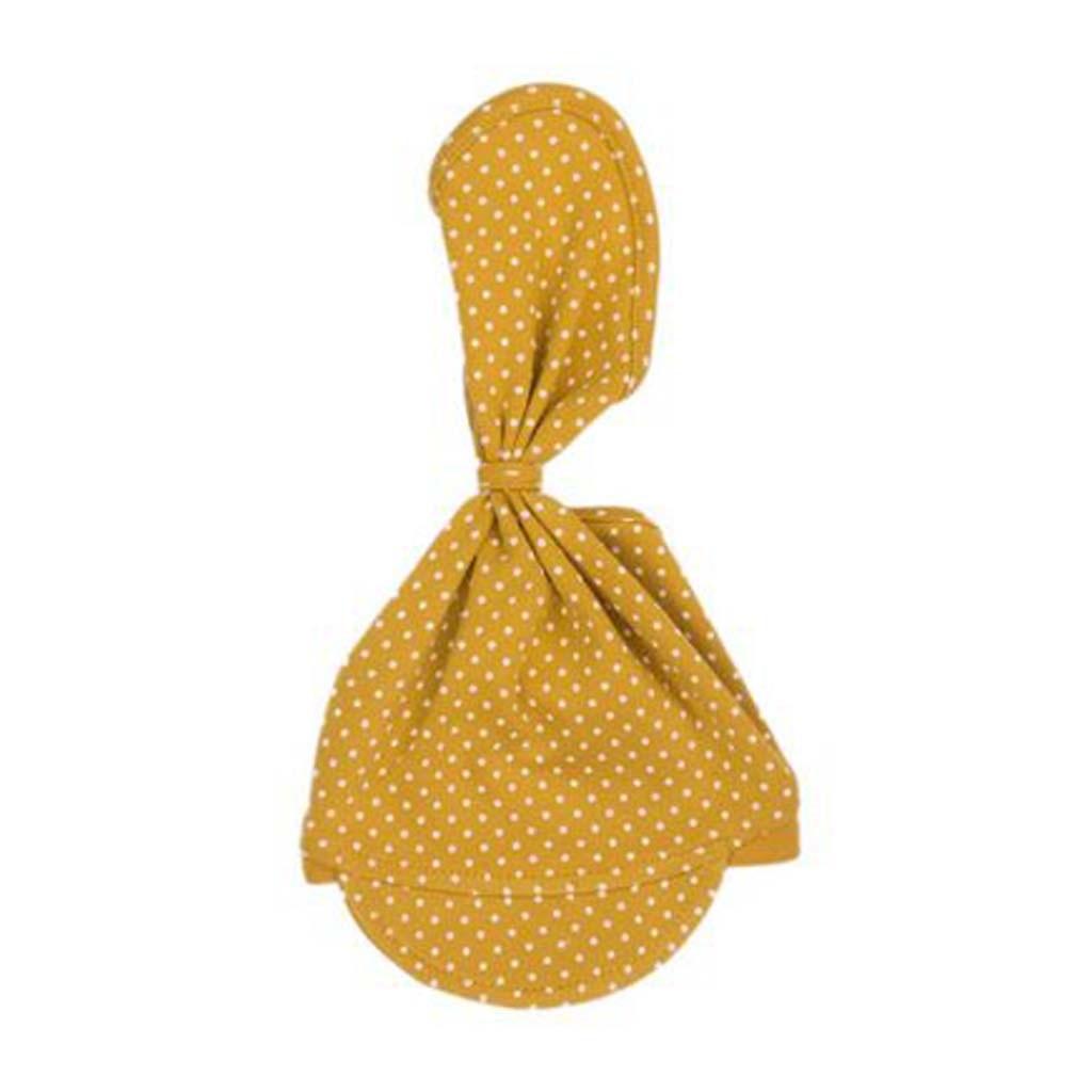 Kojenecká bavlněná čepička-šátek Nicol Michelle - dle - obrázku/56/62