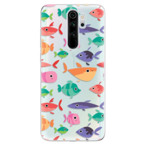 Odolné silikonové pouzdro iSaprio - Fish pattern 01 - Xiaomi Redmi Note 8 Pro