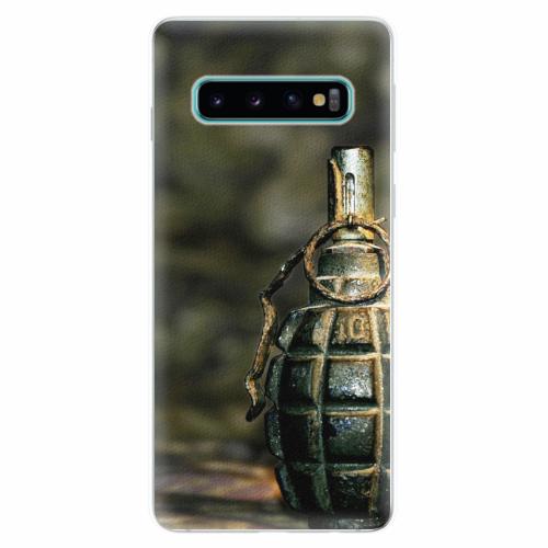 Silikonové pouzdro iSaprio - Grenade - Samsung Galaxy S10