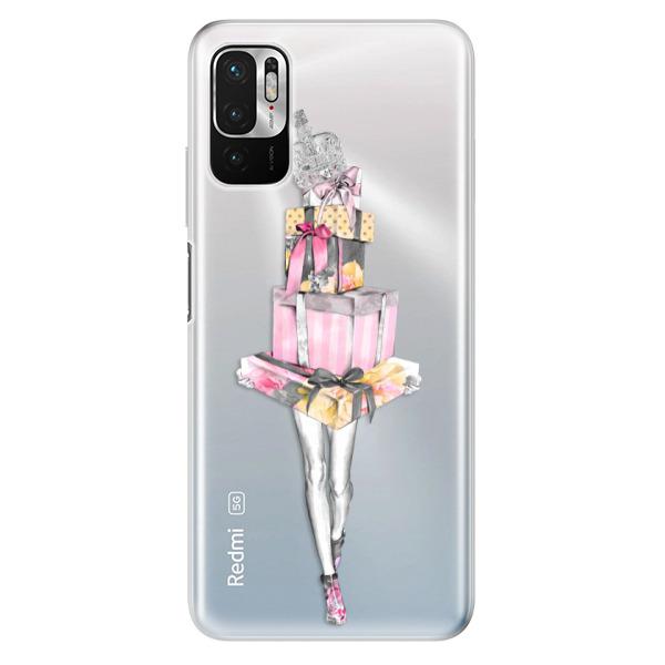 Odolné silikonové pouzdro iSaprio - Queen of Shopping - Xiaomi Redmi Note 10 5G