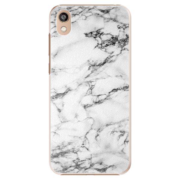 Plastové pouzdro iSaprio - White Marble 01 - Huawei Honor 8S