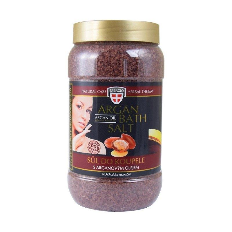 Arganový olej sůl do koupele, 1200g