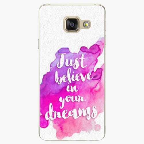 Plastový kryt iSaprio - Believe - Samsung Galaxy A5 2016