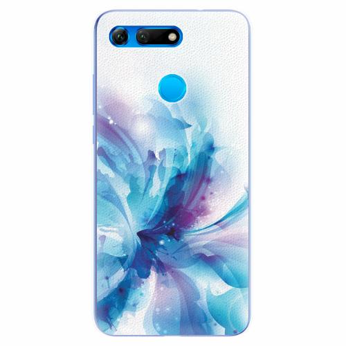 Silikonové pouzdro iSaprio - Abstract Flower - Huawei Honor View 20