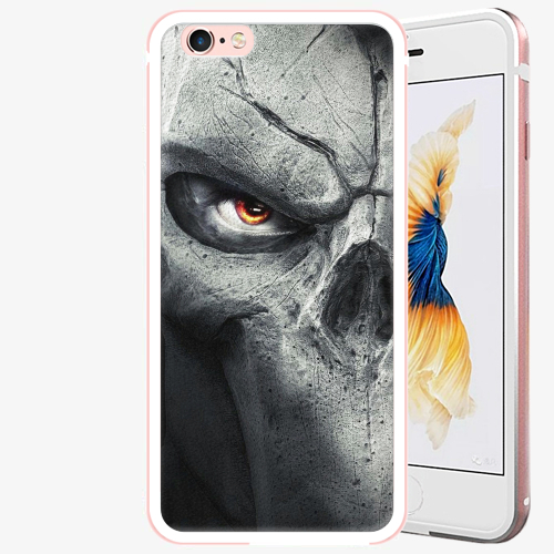 Plastový kryt iSaprio - Horror - iPhone 6 Plus/6S Plus - Rose Gold