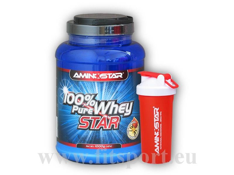 100% Pure Whey Star 1kg + šejkr