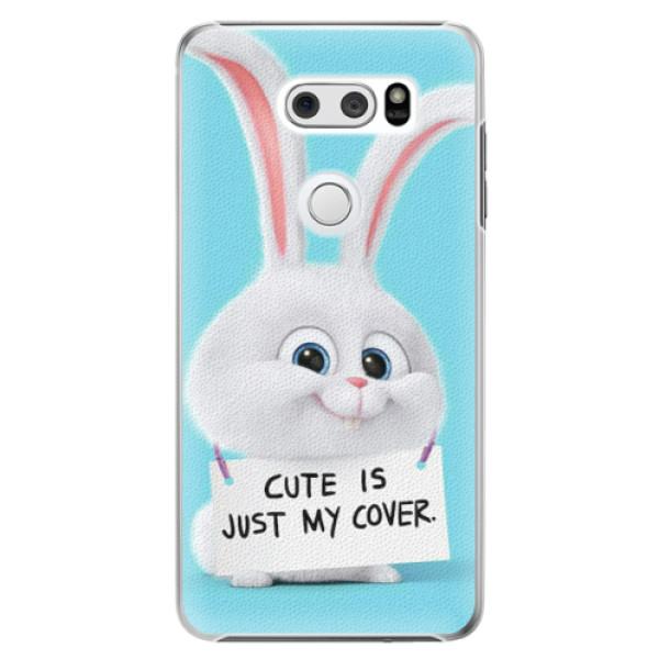 Plastové pouzdro iSaprio - My Cover - LG V30