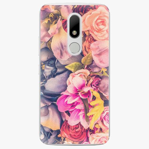 Plastový kryt iSaprio - Beauty Flowers - Lenovo Moto M