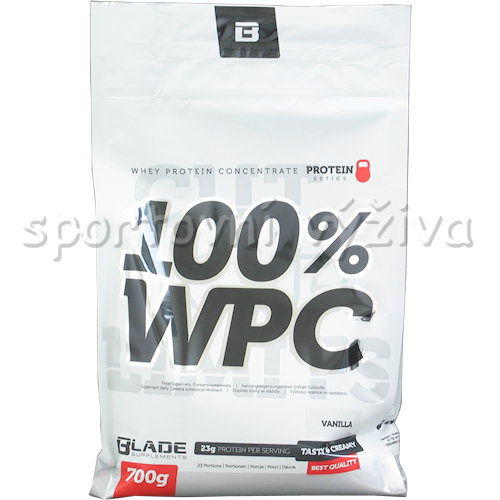 BS Blade 100% WPC Protein - 700g-malina