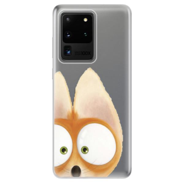 Odolné silikonové pouzdro iSaprio - Fox 02 - Samsung Galaxy S20 Ultra