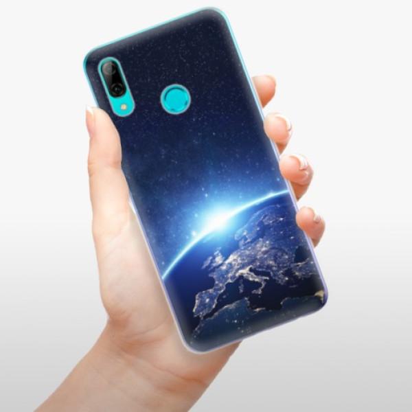 Odolné silikonové pouzdro iSaprio - Earth at Night - Huawei P Smart 2019