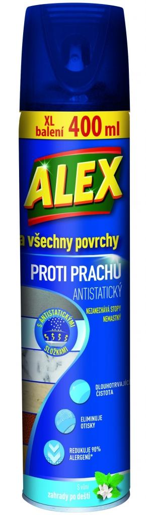 ALEX všechny povrchy proti prachu - aerosol 400 ml
