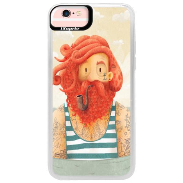 Neonové pouzdro Pink iSaprio - Sailor - iPhone 6/6S
