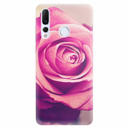 Silikonové pouzdro iSaprio - Pink Rose - Huawei Nova 4